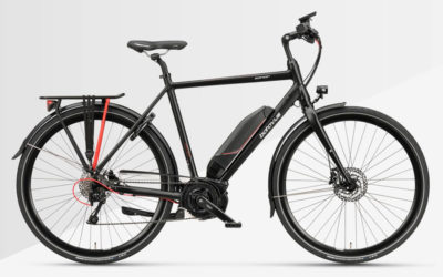 Bäst i test elcykeln Batavus Zonar E-Go