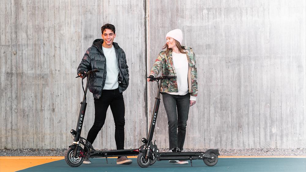 Eltra lanserar tre nya el-scooter modeller
